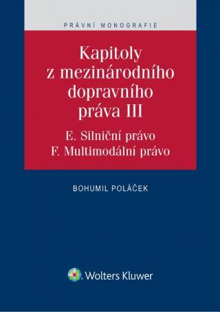 Kapitoly z mezinárodního dopravního práva III  [E-kniha]